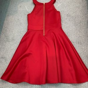 Nickie Lew Dresses - Red Size 7 Nickie Lew Skater Dress